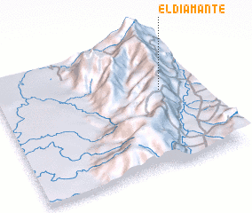 3d view of El Diamante