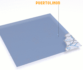 3d view of Puerto Limón