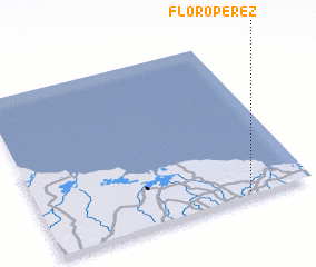3d view of Floro Pérez
