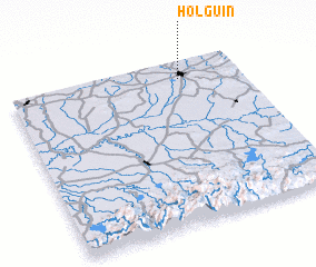 3d view of Holguín