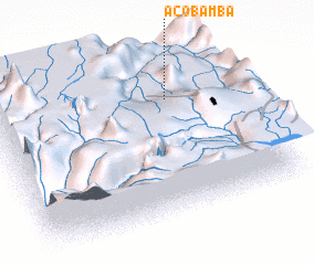 3d view of Acobamba