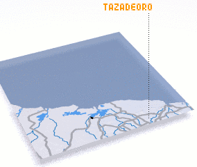 3d view of Taza de Oro