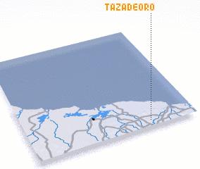 3d view of Taza de Oro