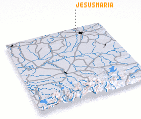 3d view of Jesús María