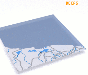 3d view of Bocas