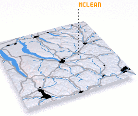 3d view of McLean