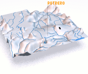3d view of Potrero