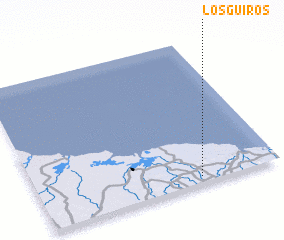 3d view of Los Güiros