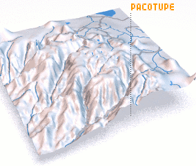 3d view of Pacotupe