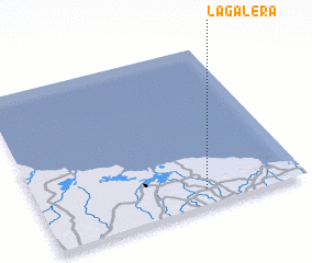 3d view of La Galera