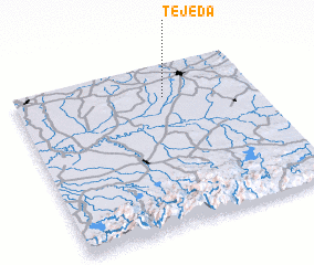 3d view of Tejeda