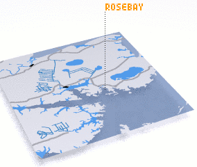 3d view of Rose Bay