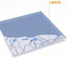 3d view of La Naza
