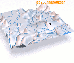 3d view of Goyllarisquizga