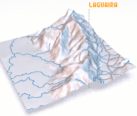 3d view of La Guaira