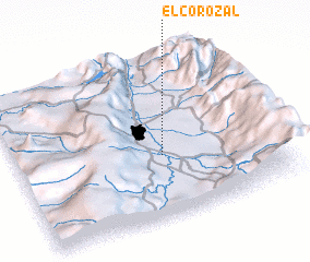 3d view of El Corozal