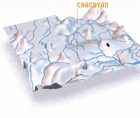 3d view of Chacayán