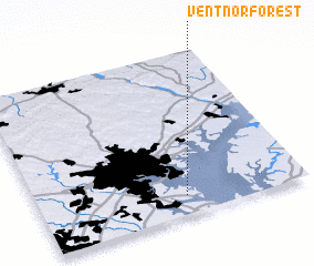 3d view of Ventnor Forest