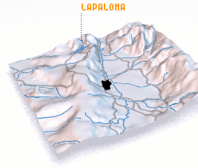 3d view of La Paloma