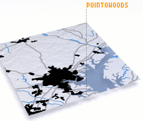 3d view of Point-O-Woods