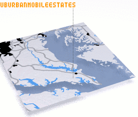 3d view of Suburban Mobile Estates