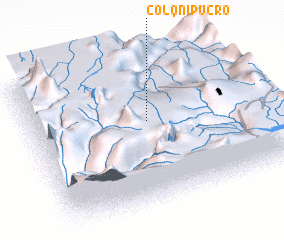 3d view of Colqnipucro