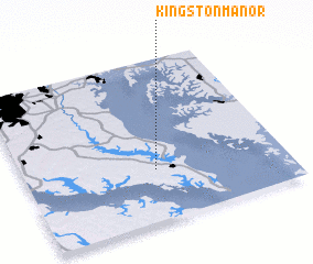 3d view of Kingston Manor