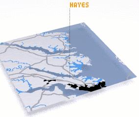 Hayes Virginia Map.Hayes United States Usa Map Nona Net