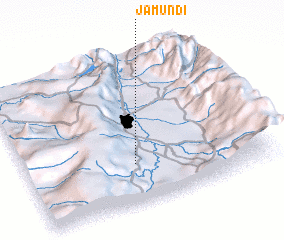 3d view of Jamundí