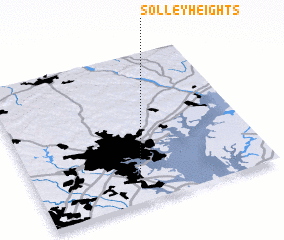 3d view of Solley Heights