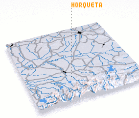 3d view of Horqueta