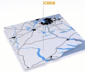 Icaria United States USA map nonanet
