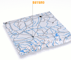Bayamo Cuba map nonanet