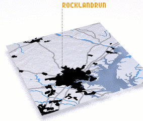3d view of Rockland Run