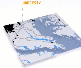 3d view of Hardesty
