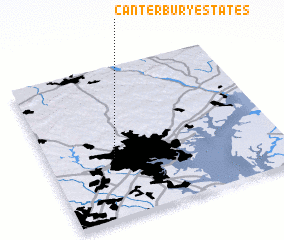 3d view of Canterbury Estates