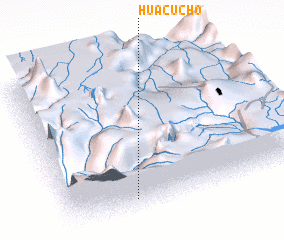 3d view of Huacucho