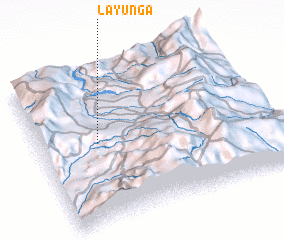 3d view of La Yunga