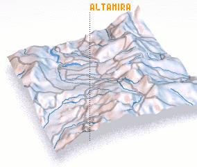 3d view of Altamira