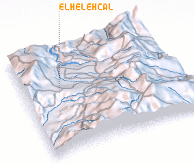 3d view of El Helehcal