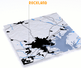 3d view of Rockland