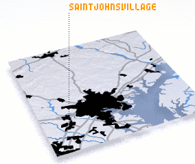 3d view of Saint Johns Village