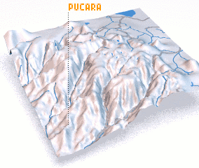 3d view of Pucará