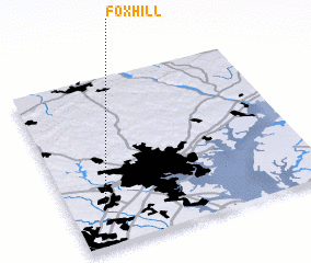 3d view of Fox Hill