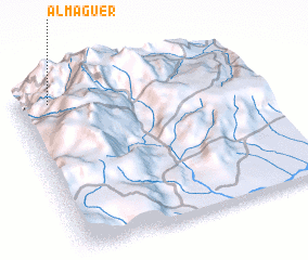 3d view of Almaguer