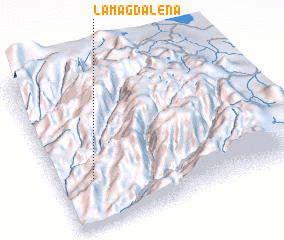 3d view of La Magdalena