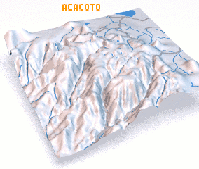 3d view of Acacoto