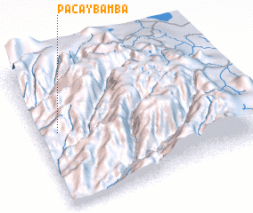 3d view of Pacaybamba