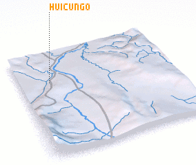 3d view of Huicungo