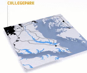 3d view of College Park